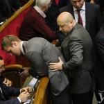 Фотофакт: Турчинов публічно карає депутата за кнопкодавство