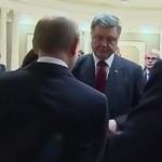 Порошенко у Мінську кашлянув на Путіна