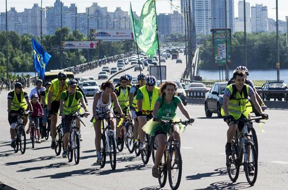 Велодоріжки, Київ