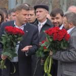 """Перші особи так званої """"ДНР"""" забрали квіти з-під пам'ятника Шевченку в Донецьку"""