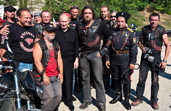 Нічні вовки - байкери Путіна