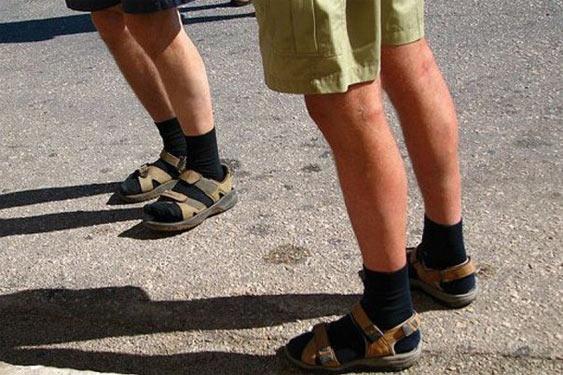 Шкарпетки під сандалі
