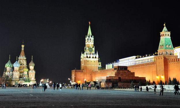 Москва, мавзолей Леніна