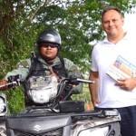 Каськів намагався втекти від панамських правоохоронців, видаючи себе за лижного інструктора