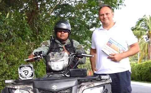 Владислав Каськів у Панамі