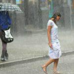 У Львові люди почали ходити по воді після того, як випав дощ