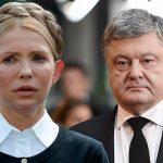 Петро Порошенко обігнав Юлію Тимошенко